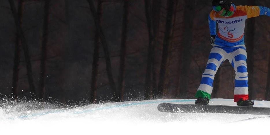Para Snowboard