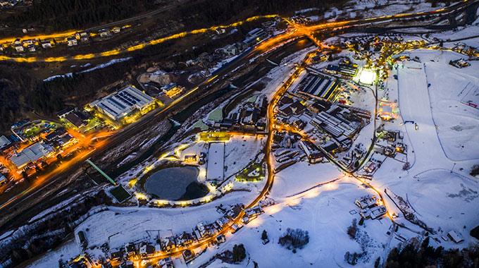 Tesero Cross-Country Skiing Stadium